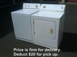 Washer & Dryer (DeIivered/lnstalled)