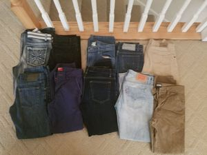 14 pairs of boys jeans size 14