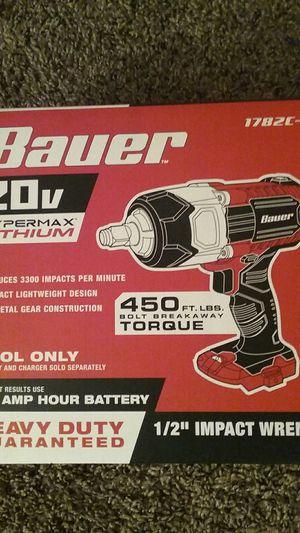 Bauer cordless half-inch drive impact