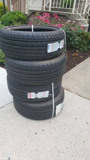 Set of 4- 225/40R18 new tires w/ tags