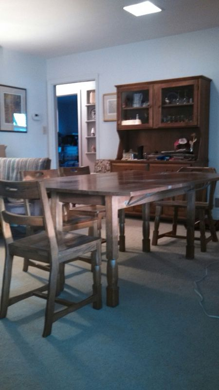 Brandt Ranch Oak Dining Room Table And Matching China Cabinet Furniture In Fond Du Lac WI