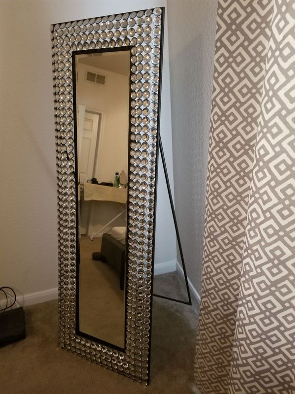 Bling Cheval Floor Mirror (From Kirklands) (Furniture) in San ...