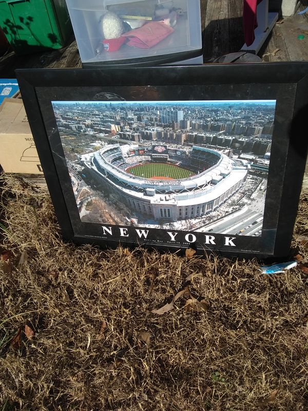 Yankee Stadium Picture In Frame Sports Outdoors In Greenville