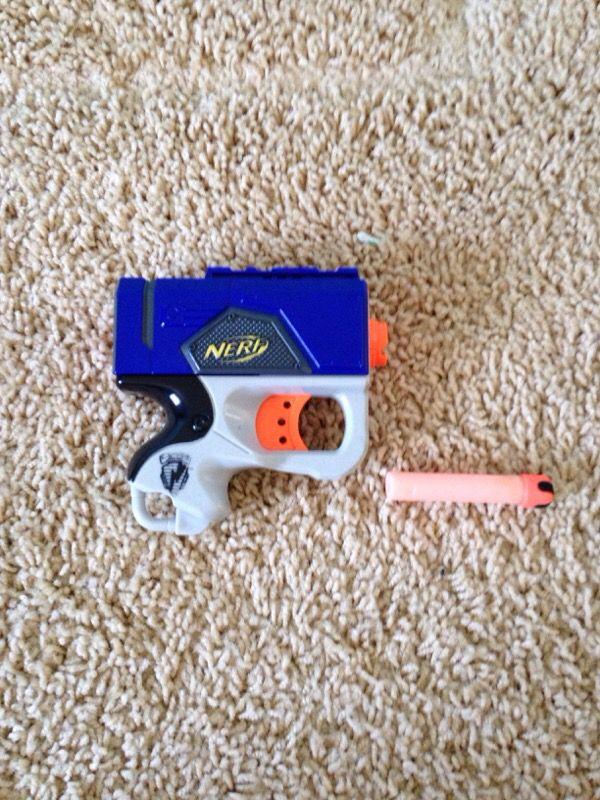 Image is loading First-Strike-Elite-Nerf-Gun-Used-VG-FS-