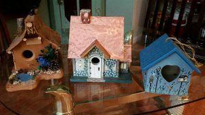 Set of 4 Birdhouses