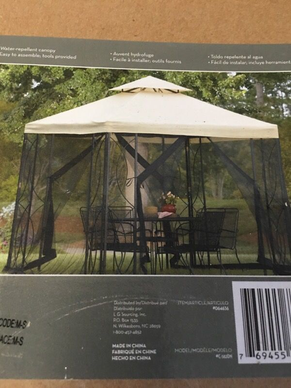 Gazebo Top Cover 8ft Fabric Only Household In Lynnwood