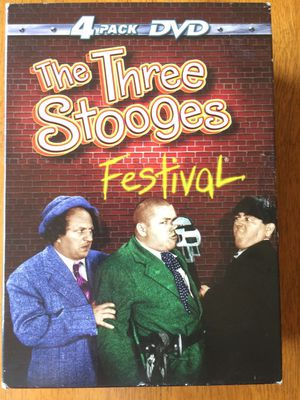 The three stooges: Festival 4 pack with the three stooges movie DVDs