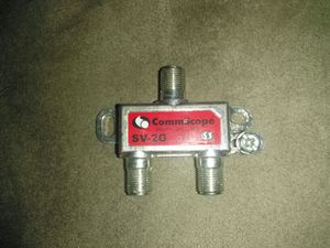 3 way cable splitter