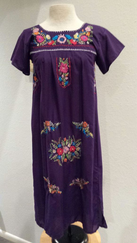 mexican dress Mexican Floral Dress