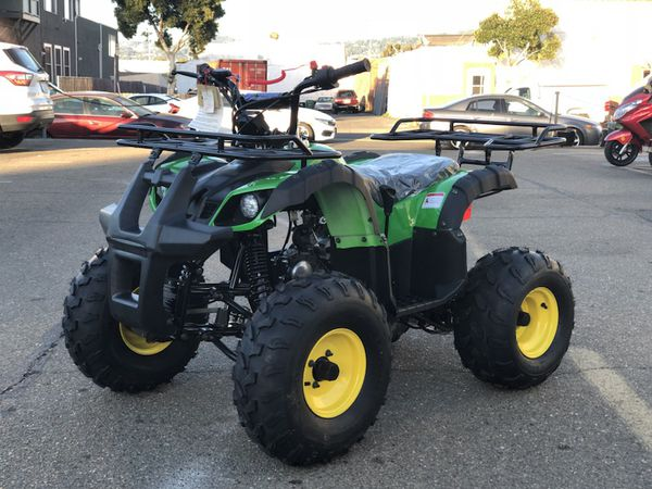110cc john deere style atv automatic motorcycles in alameda ca. Black Bedroom Furniture Sets. Home Design Ideas