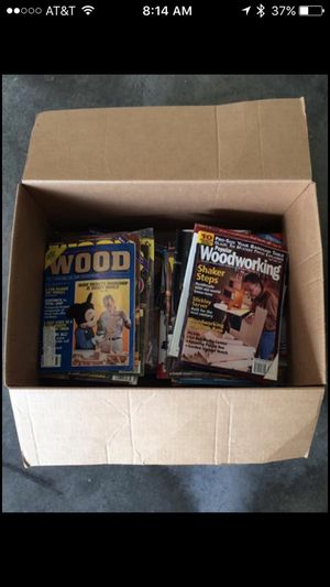 77 Woodworking Magazines