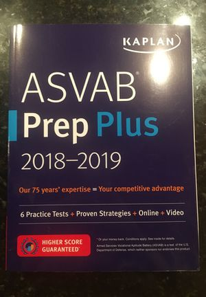 brand new ASVAB prep - never used!