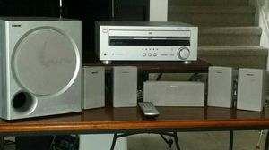 ASKING $75 SaveEmail Sony 5 discs CD/DVD Home Theatre System Model AVD-K800P