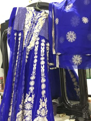 Indian /Pakistani 4 piece stiched frock