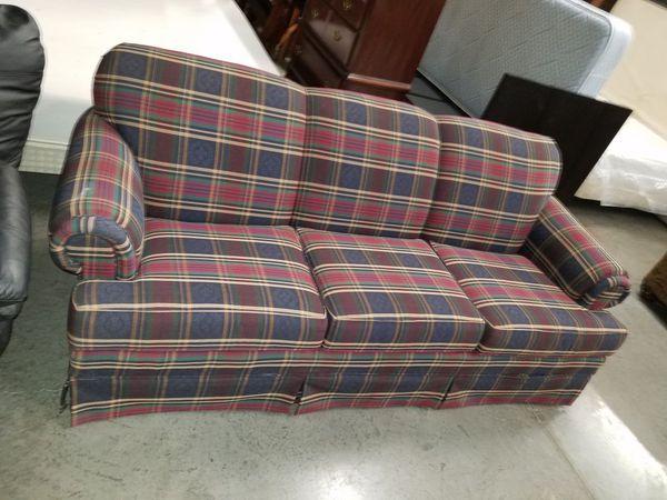 Plaid Sofa vintage broyhill plaid sofa furniture in kansas city mo