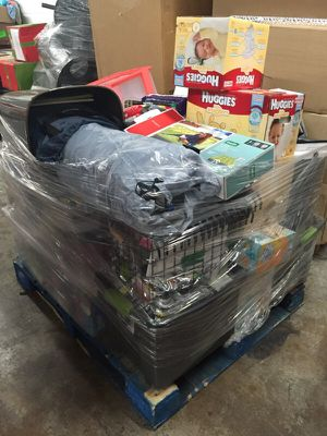 Pallets of merchandise household in plano tx offerup