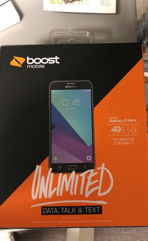 Switch to BoostMobile today! To get a SAMSUNG J7 PERX for FREE! Also now including 6 months of HULU for FREE! Also when switching multiple lines, tak
