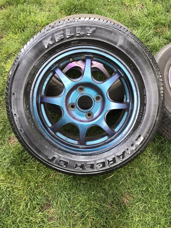 Selling my old Honda rims (Auto Parts) in Eugene, OR