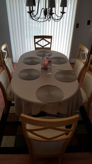 Dining table for 6