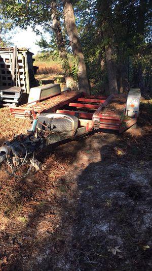U-haul car trailer