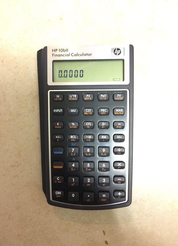 HP 17BII Financial Calculator (Electronics) in Albuquerque, NM