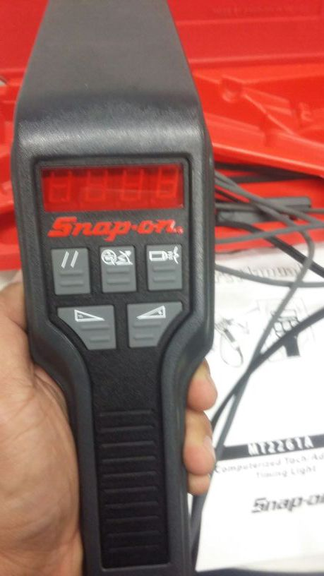 snap on timing light instructions