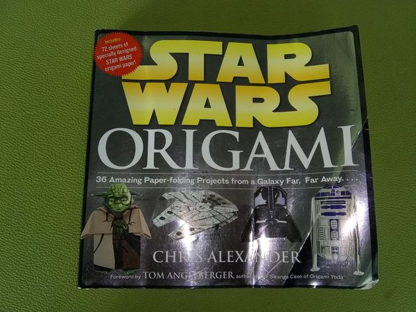 Star Wars Origami Book And Bonus Toy Games Toys In Olympia Wa
