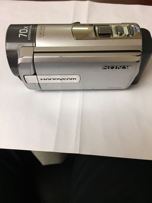 Handyman dcr SX85 camera