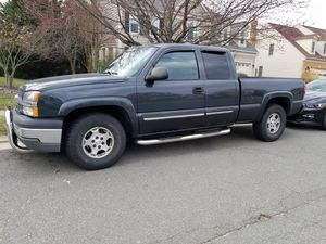 2004 Chevy Silverado z71 4x4 with 178,000 miles