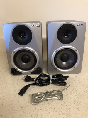 M- audio speakers studio 4.