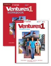 Ventures Level 1 Value Pack (Student's Book with Audio CD and Workbook with Audio CD) Cambridge