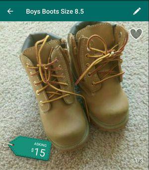Boys Boots 8.5