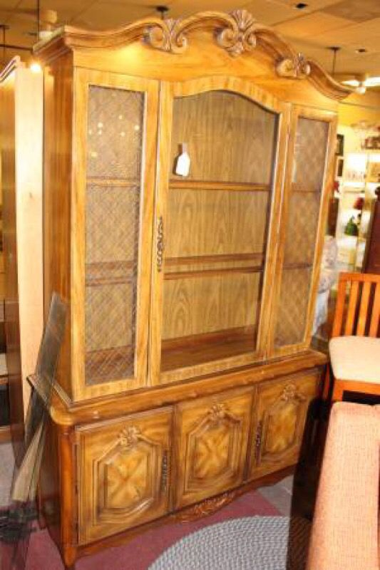 Design Reinspirations French Provincial China Cabinet