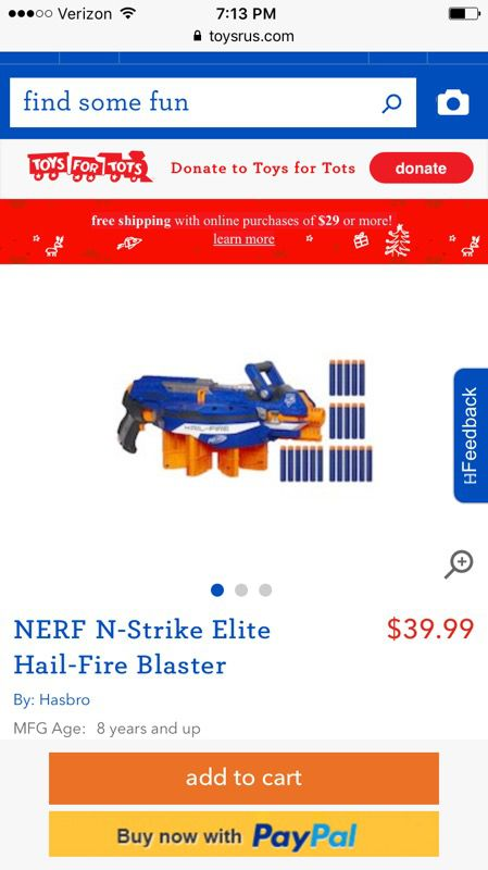 Nerf Guns! ( BLACK FRIDAY SALE )