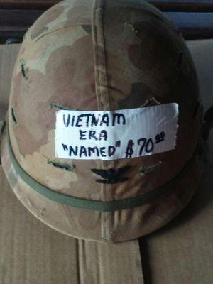 Vietnam Era Helmet and liner