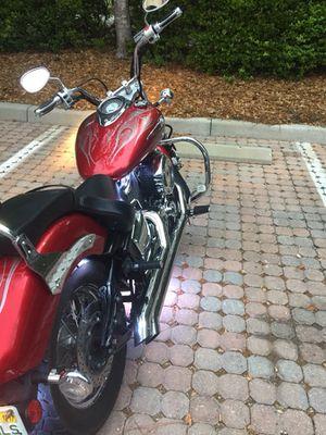 Yamaha v-star 1100cc