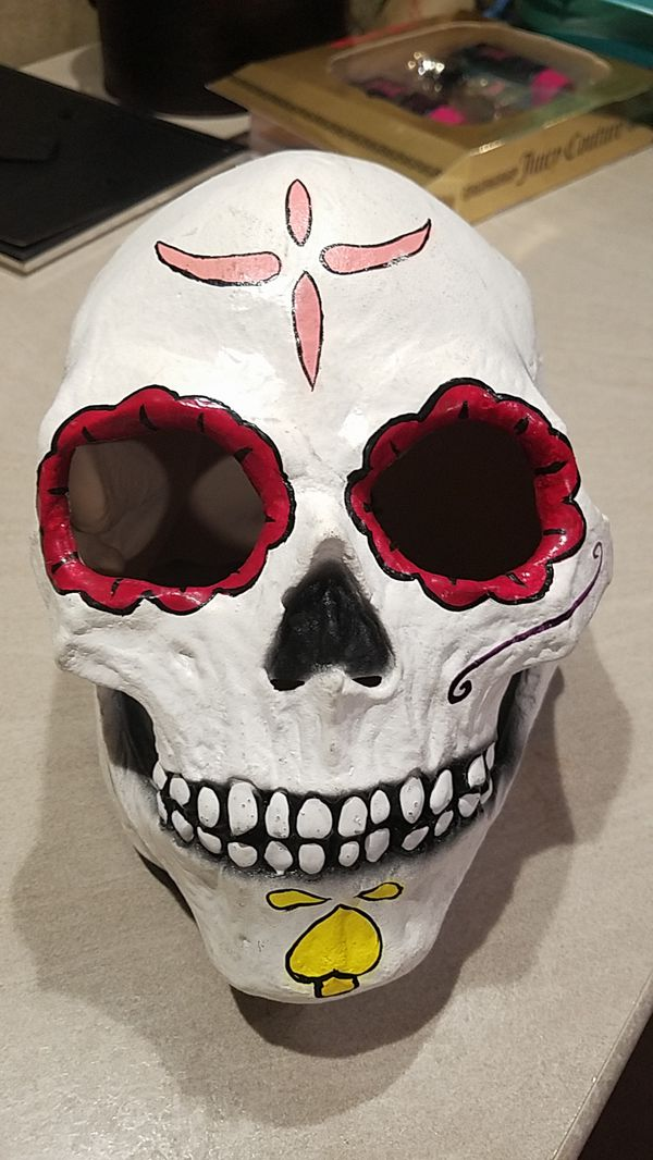 sugar skull halloween mask games toys in portland or offerup