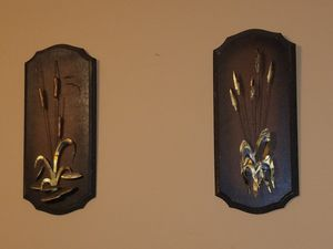 Set of decorative wall hangings