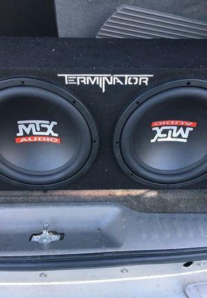 Speakers MTX Audio 12's