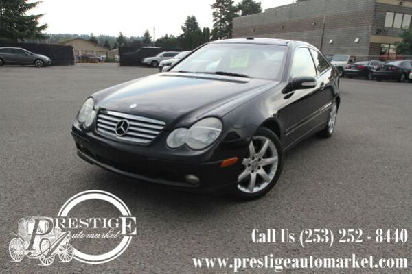 2004 mercedes benz c320 coupe with low miles cars for 2004 mercedes benz c320