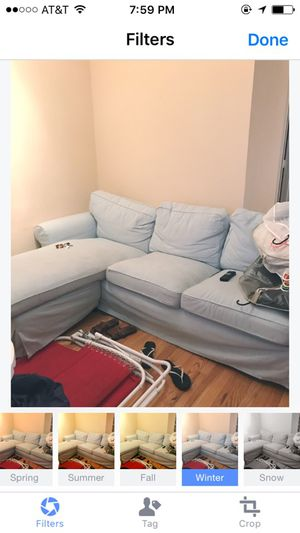 $400 couch with under one year of use!