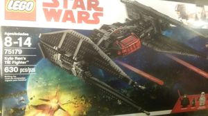 Star Wars LEGO set. .new KYLO REN TIE FIGHTER. .NEW