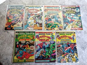 Comic Book Lot - Spiderman Team Up
