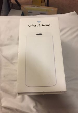 Apple AirPort Extreme. Latest model.