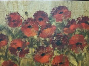 """""""POPPIES ART"""" BED, BATH AND BEYOND"""
