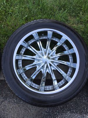 CADILLAC ESCALADE WHEELS for $700 OR BEST OFFER!!