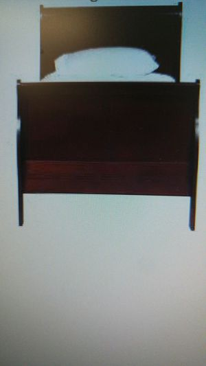Sleigh twin bed w/ pop up trundle