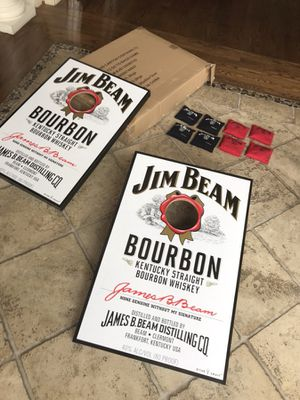 Jim Beam Cornhole Boards (set of 2)