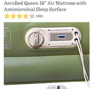 Queen Aerobed self inflating air mattress