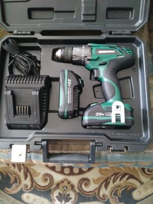 Masterforce 20 volt drill driver asking 90 dollars firm